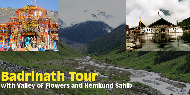 GMVN Badrinath Tour with Valley of Flowers and Hemkund Sahib