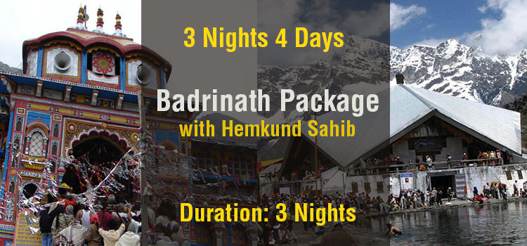 Badrinath Tour Package with Hemkund Sahib