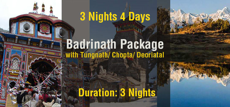 Badrinath Tour Package with Tungnath & Deoriyatal Ex Haridwar