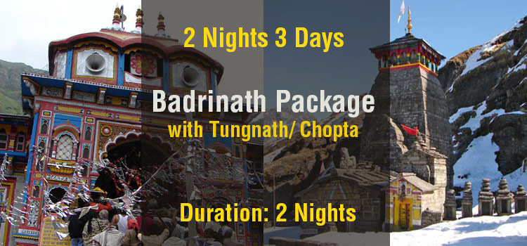 Badrinath Tour Package with Tungnath Ex Haridwar
