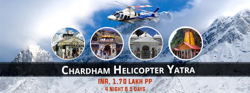 Char Dham Helicopter Tour by Heli Yatra Ex Dehradun