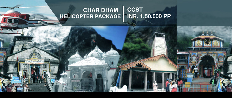 Chardham Helicopter Tour Package ex Dehradun