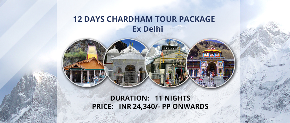 Chardham Tour Package (From Delhi)