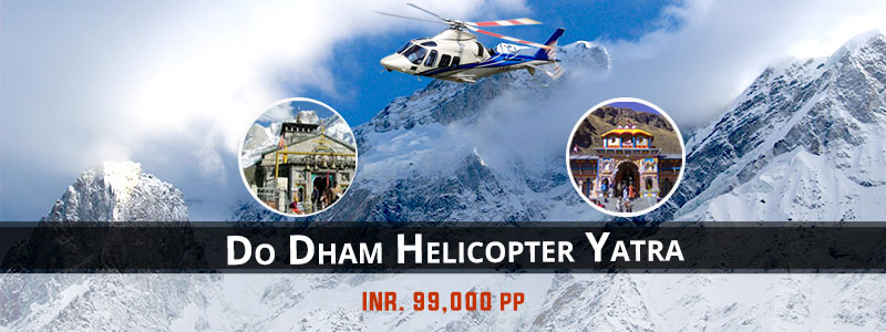Do Dham Kedarnath Badrinath Helicopter Package From Dehradun