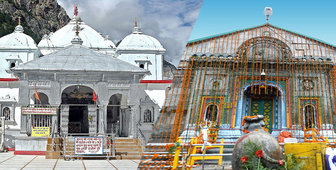 Gangotri Kedarnath Do Dham Tour Package