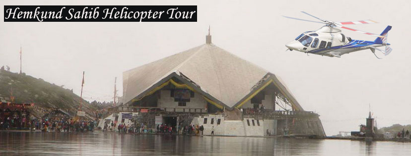 Hemkund Sahib Helicopter Tour by Heritage Aviation
