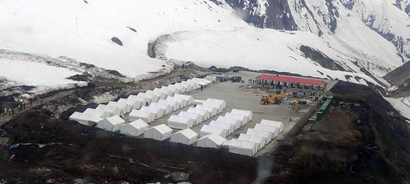 GMVN Camps/ Tents in Kedarnath