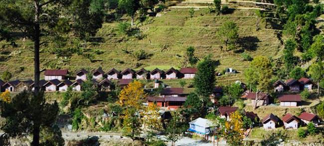 The Char Dham Camp (Barkot)