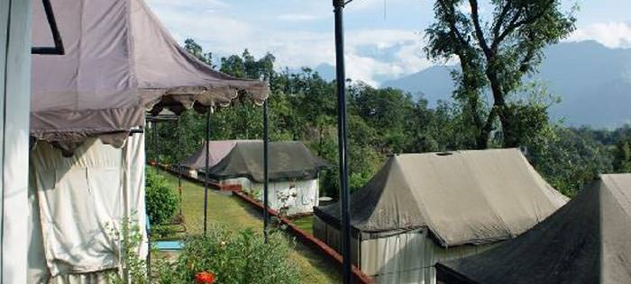 The Chardham Camp (Guptakashi)