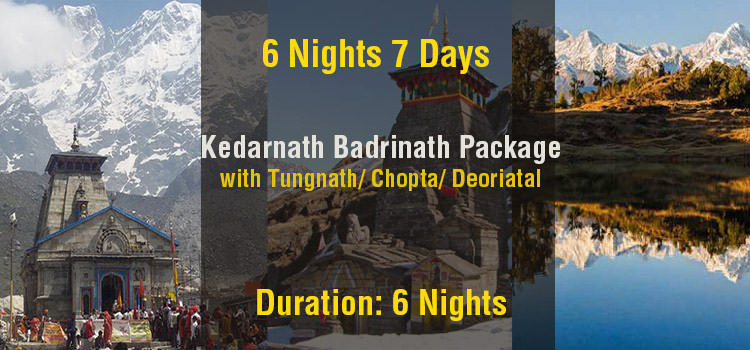 Kedarnath Badrinath Tour Package with Tungnath & Deoriatal From Haridwar