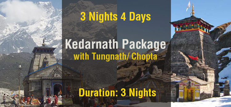 Kedarnath Tour Package with Tungnath Ex Haridwar