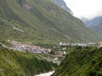 View of Amazing Badrinath Valley
