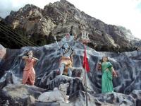 Shiv murti near Gangotri