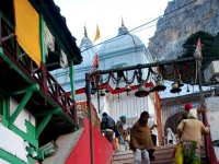 Stairs to Gangotri Temple