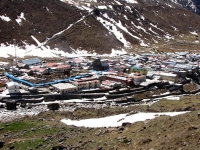 Full View of Kedarnath Shrine area