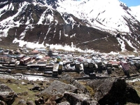 Kedarnath view from the trail to Gandhi Sarovar