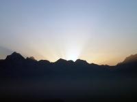 Blissful Sunrise at Rudranath