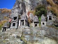 Cluster of Small temples of Lord Shiva family