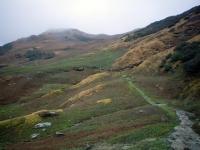 Trek route to Rudranath from sagar Village