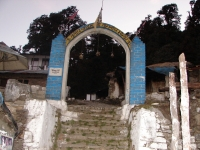 Entry Gate of Tungnath Temple from Chopta
