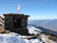 Ganesha temple on the route to Tungnath