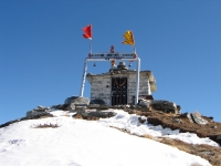 View of Chandrashilla