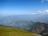 View from Tungnath temple during summers