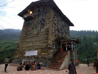 Temple near Yamunotri Dham