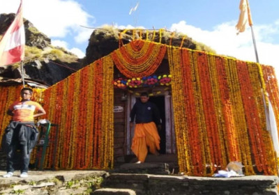 Rudranath Temple on opening day