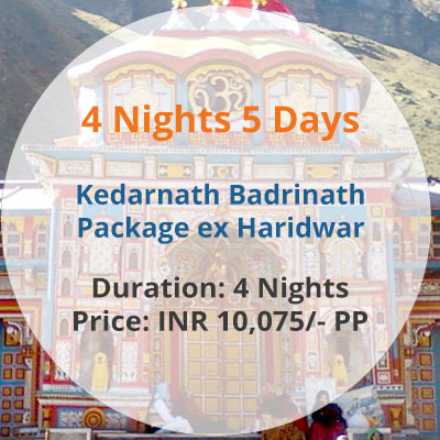 Badrinath Kedarnath Package from Haridwar