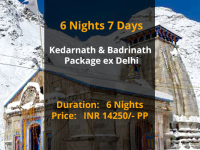 Kedarnath Badrinath Package from Delhi