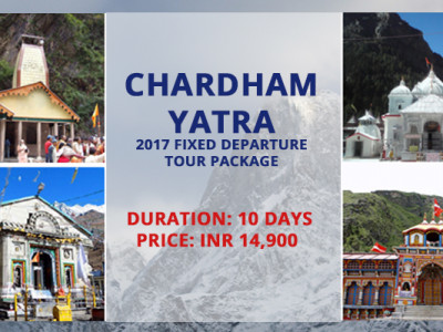 Chardham Yatra Fixed Departure Tour Package