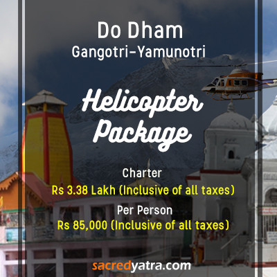 Yamunotri Gangotri Do Dham Helicopter Package