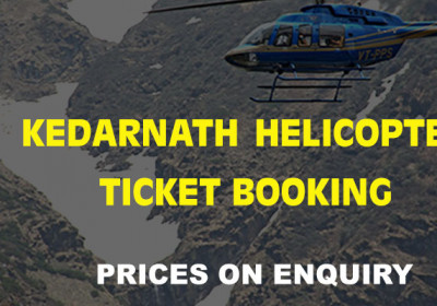 Kedarnath Helicopter Ticket Booking