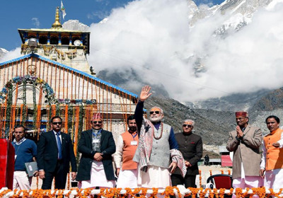 Modi in Kedarnath