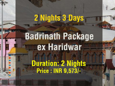 Badrinath Package from Haridwar 2 Nights 3 Days