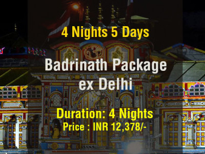 Badrinath Package from Delhi 4 Nights 5 Days