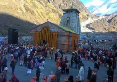 Kedarnath Temple 2018 Opening Day Photo