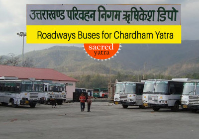 Roadways Buses for Chardham Yatra