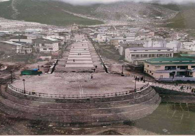 Arrival Plaza took shape in Kedarnath