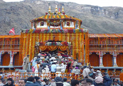 Badrinath Dham closed for winter season