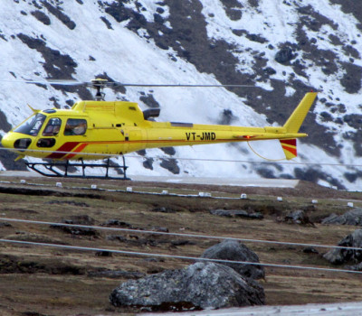 Jettech Aviation Badrinath Helicopter Package from Dehradun