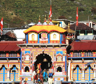 Badrinath Temple closed for winter