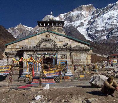 Kedarnath temple coated with Silicon