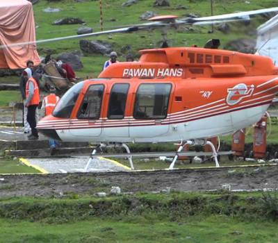Kedarnath Helicopter Tour by Pawan Hans @ Rs 7000