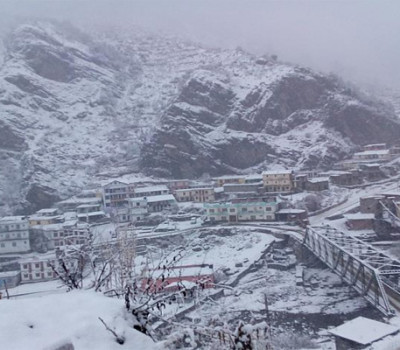 Snowfall in Kedarnath, Badrinath, Hemkund and Gaumukh