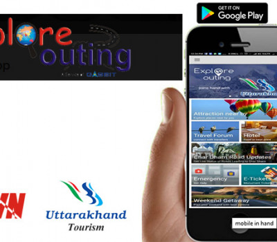 Explore Outing mobile app for Chardham Pilgrims