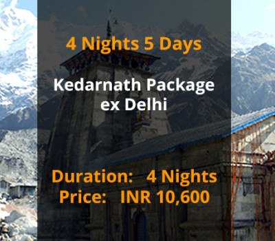 4 Nights 5 Days Kedarnath Package ex Delhi