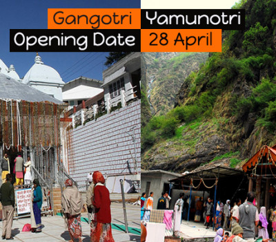 Shubh Muhurat decided for Gangotri & Yamunotri shrine opening
