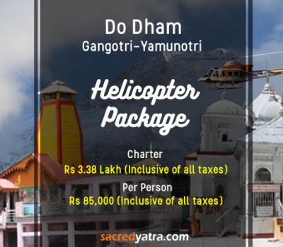 Do Dham Yamunotri Gangotri Helicopter Tour from Dehradun